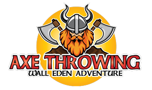 Wall eden Farm activities - Axe target throwing